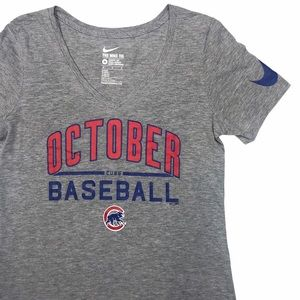 Nike Tee | Cubs October Graphic Tee | M
